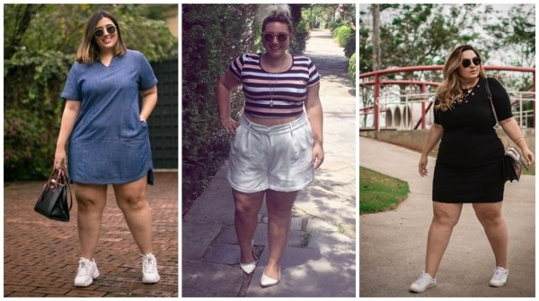 looks plus size para churrasco