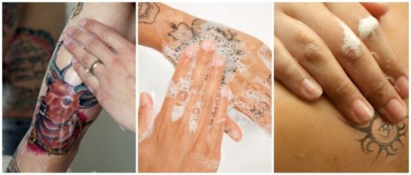 cuidados para higienizar tatuagem descascando