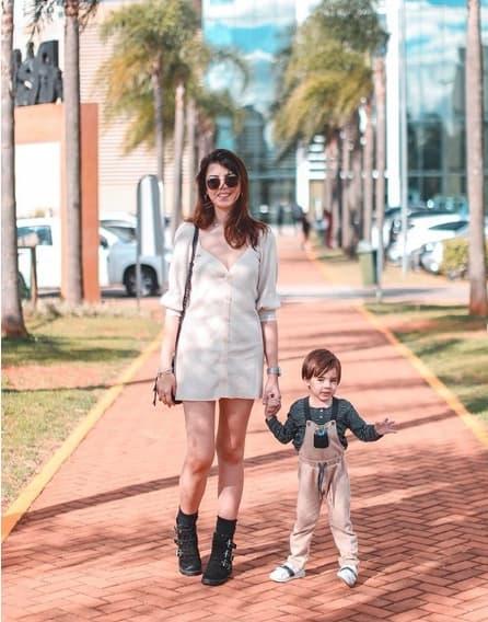 blogueira com filho para seguir