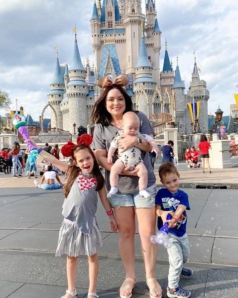 blogueira antiga e com filhos
