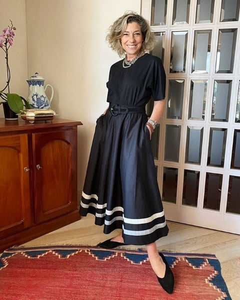 blogueira de moda para mulheres mais velhas
