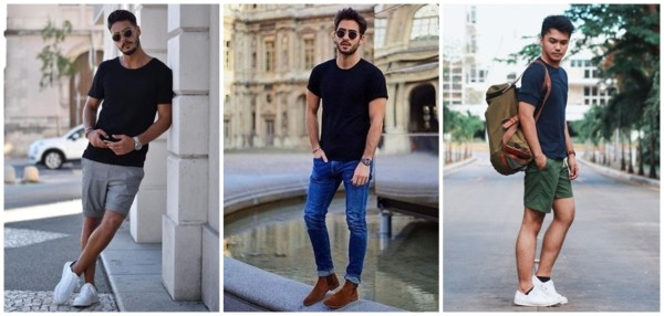 look masculino simples e moderno