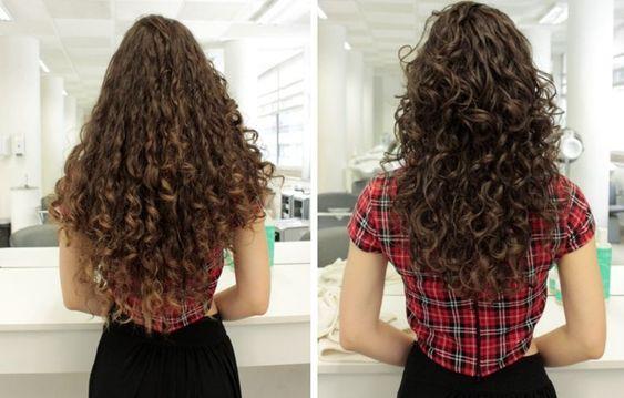 Corte para cabelo cacheado