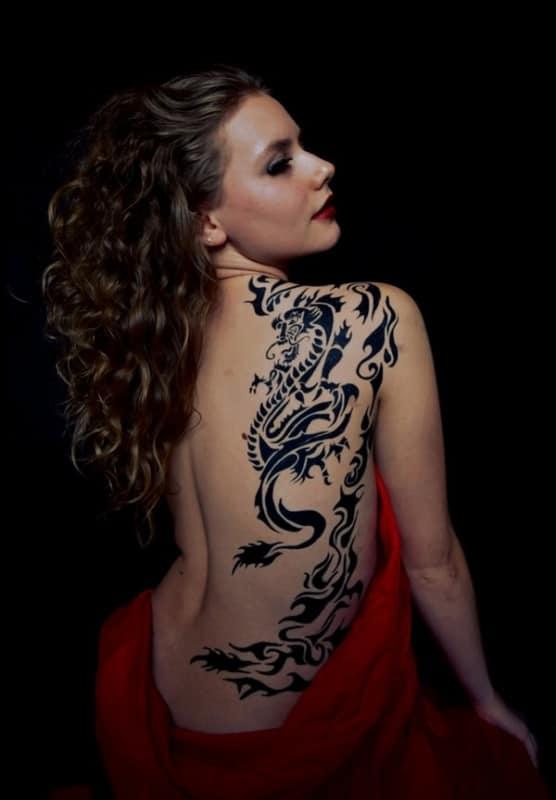 Tatuagem Dragão chines dicas