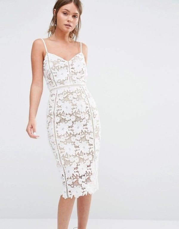Vestido branco de renda 23