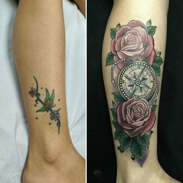 cobertura de tatuagem dicas