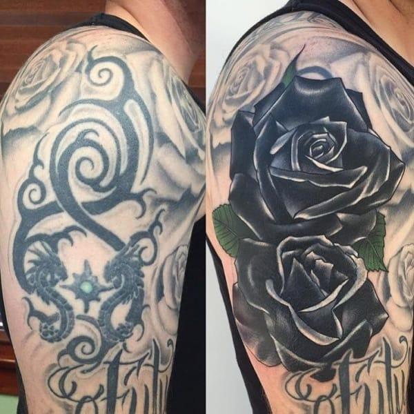cobertura de tatuagem grande