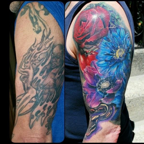cobertura de tatuagem ideias
