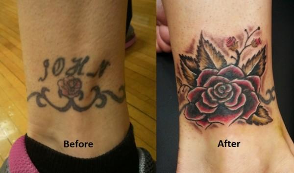 cobertura de tatuagem no pulso