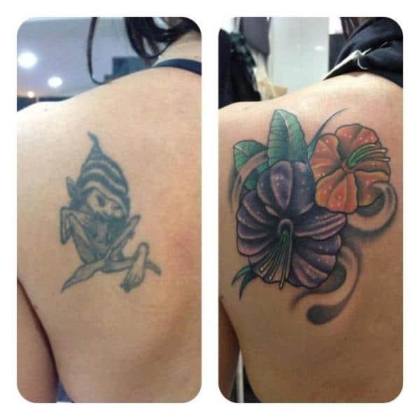 cobertura de tatuagem ombro