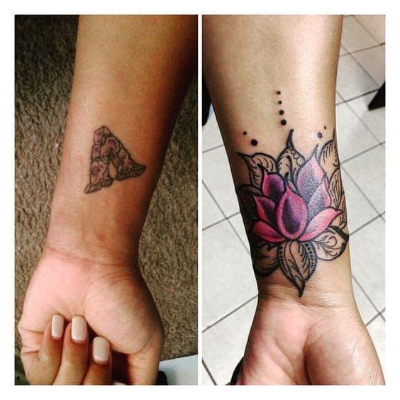 cobertura de tatuagem para mulheres