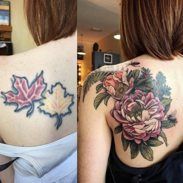 como fazer cobertura de tatuagem