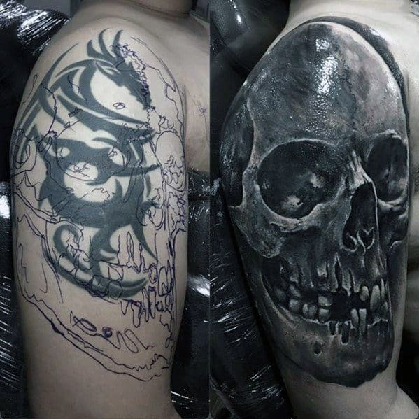 cover up tattoo antes e depois