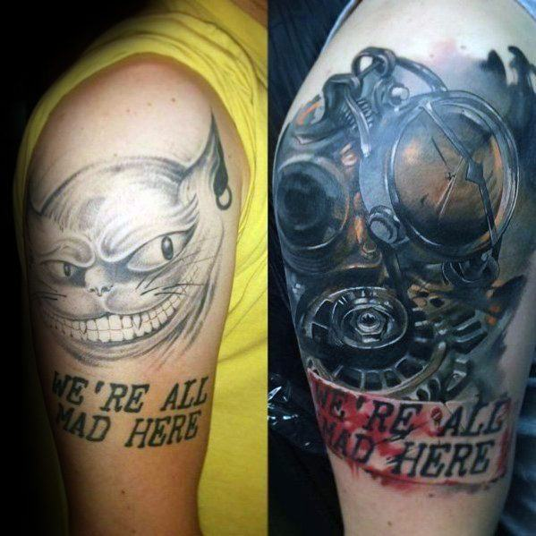 cover up tattoo colorida ideias