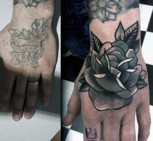 cover up tattoo em pulso