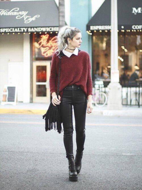 estilo alternativo para inverno