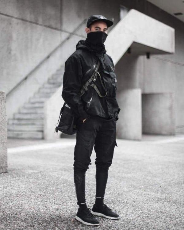 estilo alternativo preto
