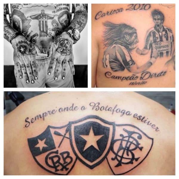 Tatuagem do Botafogo: +40 ideias para fãs do time! •【2021】