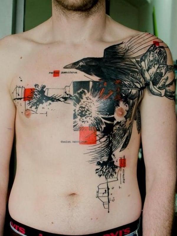 linda tatuagem new school
