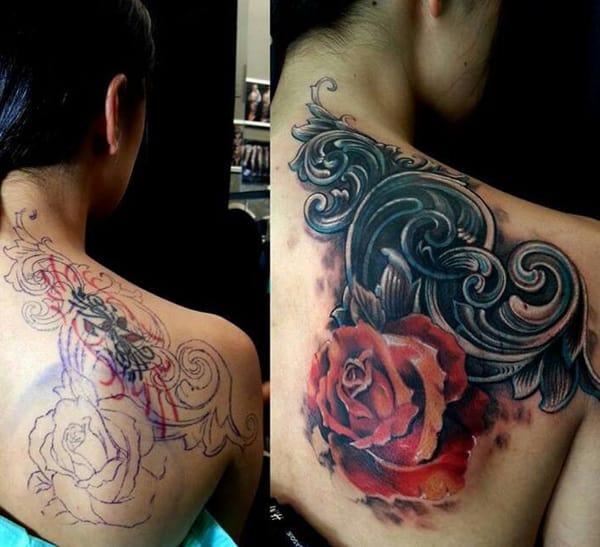 modelos de cobertura de tatuagem
