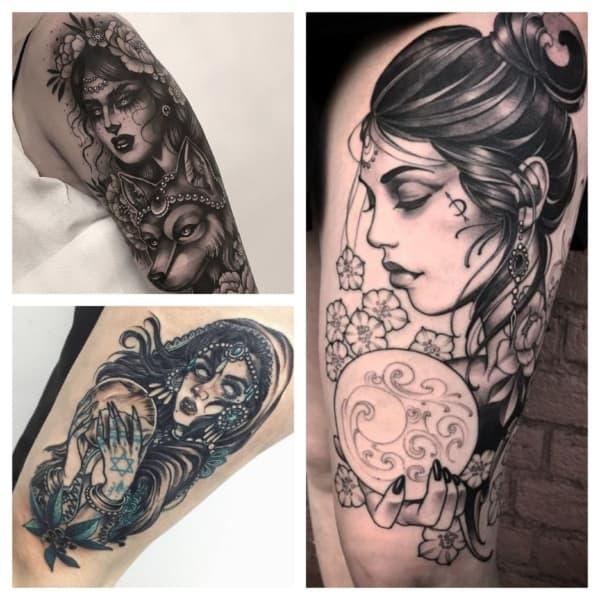 tattoo de cigana