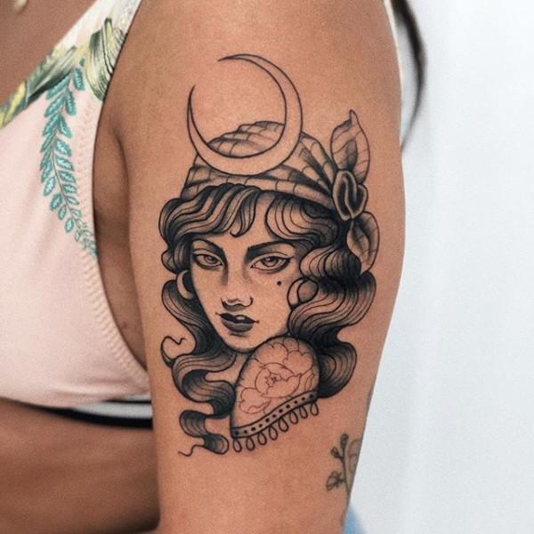 tatuagem cigana ideias