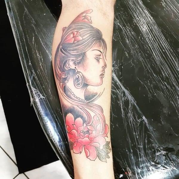 tatuagem cigana mexicana 1
