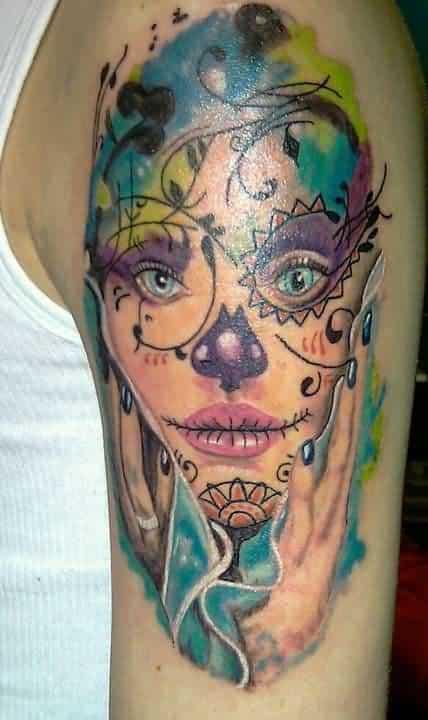tatuagem cigana mexicana