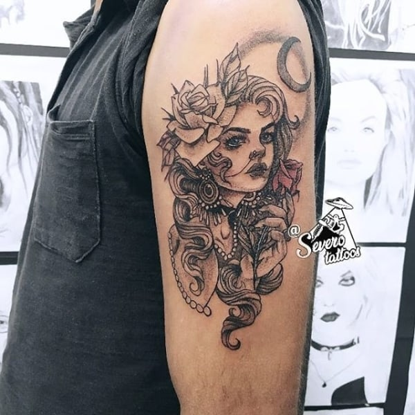 tatuagem cigana modelos