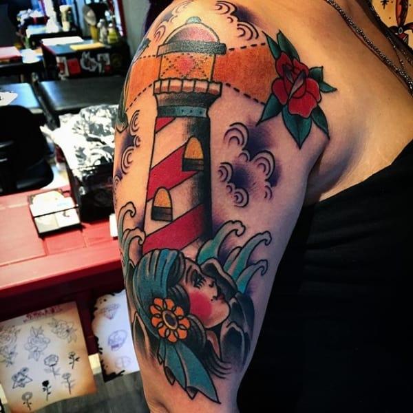 tatuagem cigana old school 1