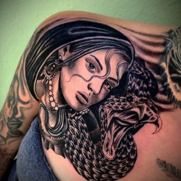 tatuagem cigana realista 1