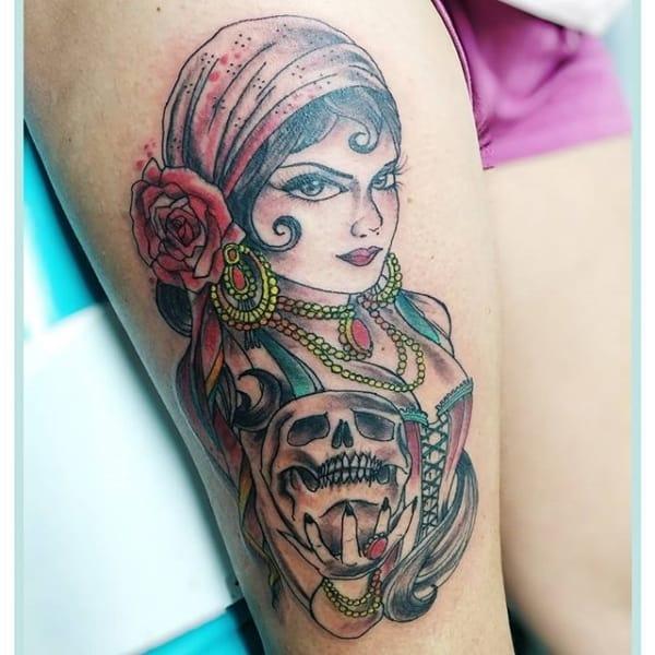 tatuagem cigana