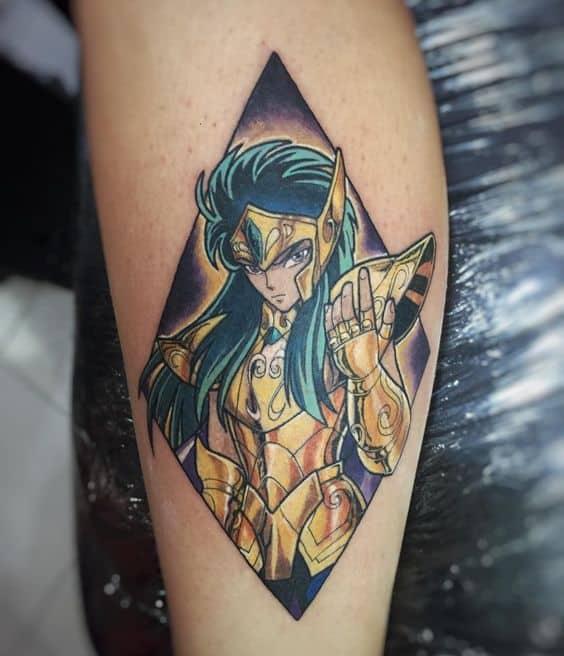 tatuagem geek cavaleiros