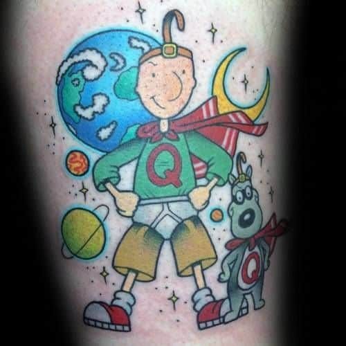 tatuagem geek doug