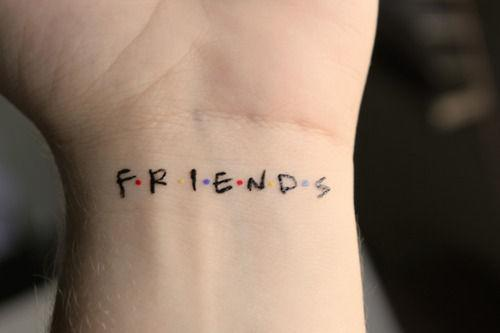 tatuagem geek friends