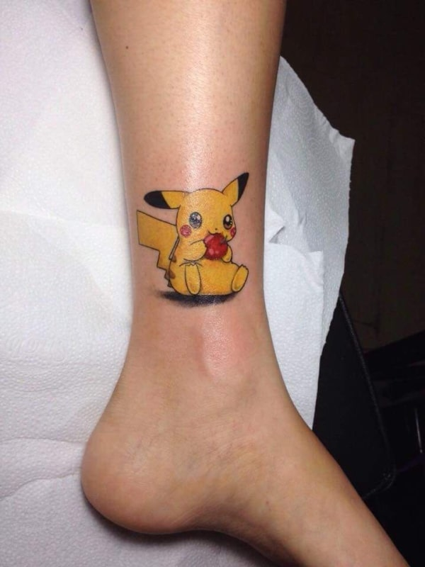 tatuagem geek pikechu
