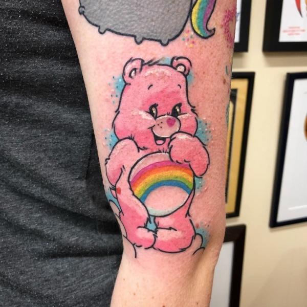 tatuagem geek ursinhos carinhosos