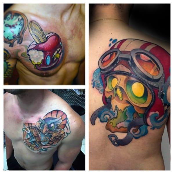 tatuagem new school 1