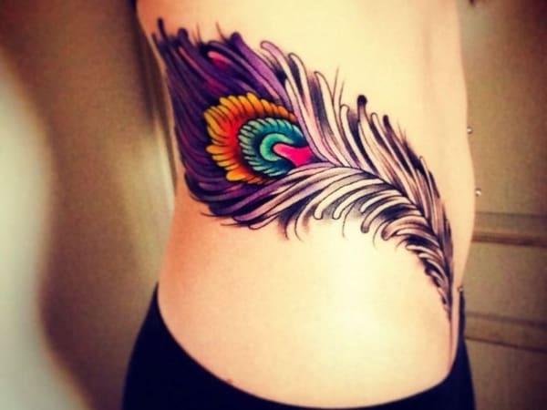tatuagem new school pena