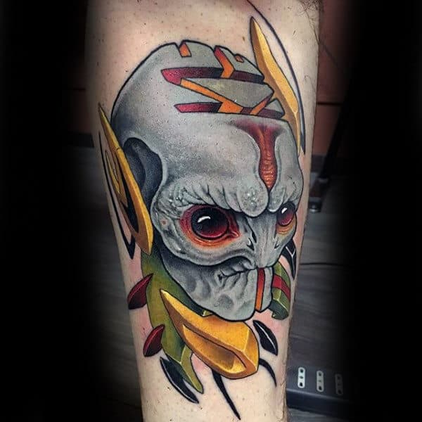 tatuagem new school rapazes