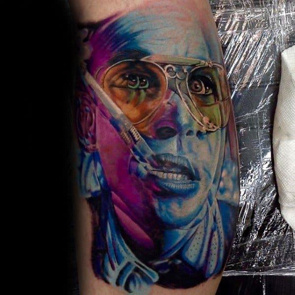 tatuagem psicodélica diferente 1