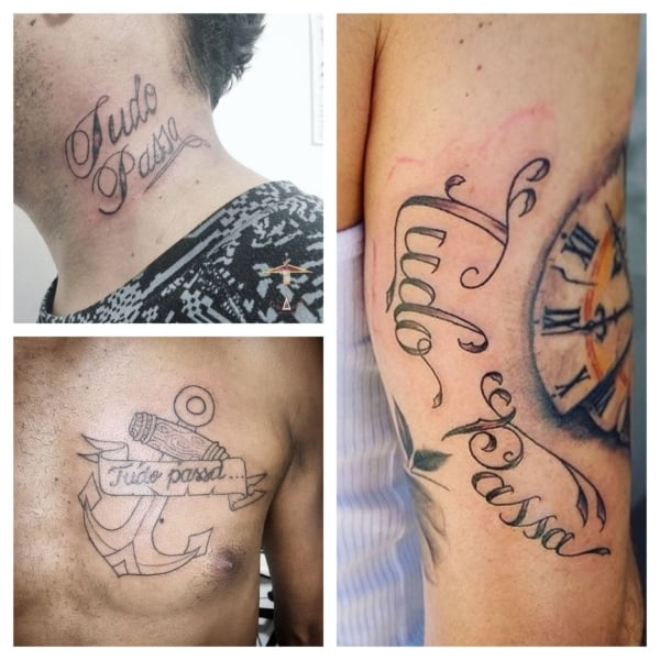 tatuagem tudo passa 2