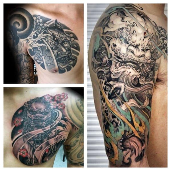 tatuagens chinesas de dragão