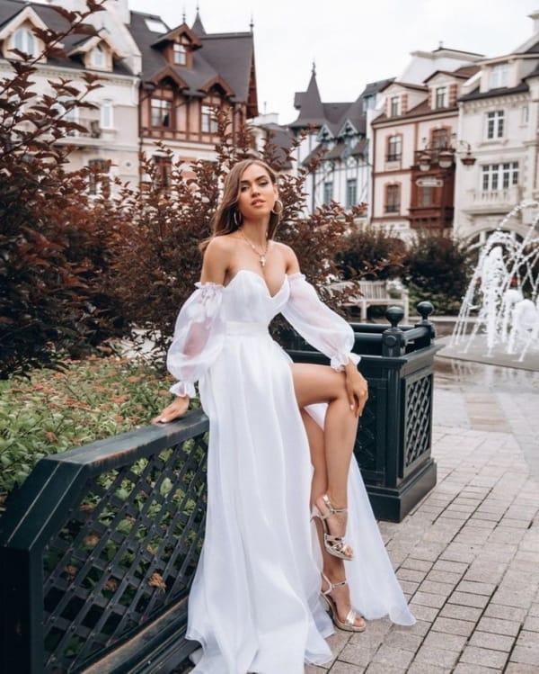 vestido branco para formatura 71