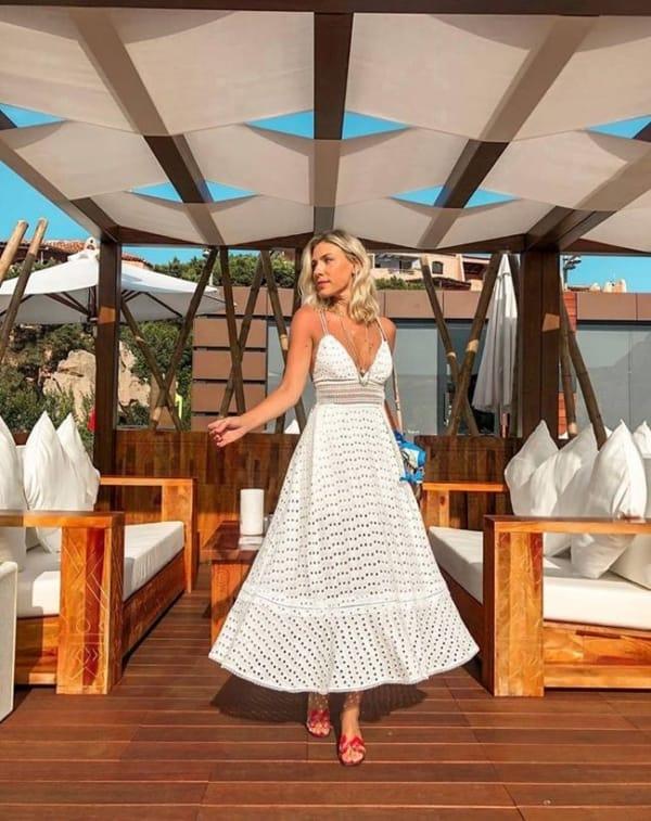 vestido rodado branco 29