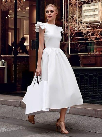 vestido rodado branco 31