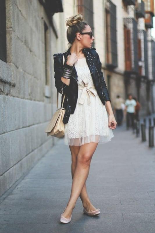vestido rodado branco 32