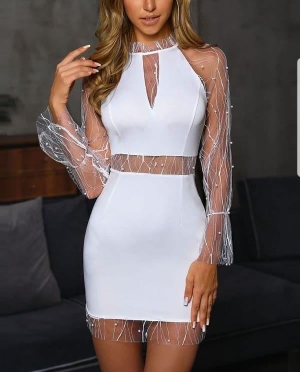 white dress 07