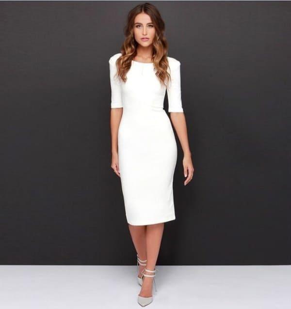 white dress midi 11