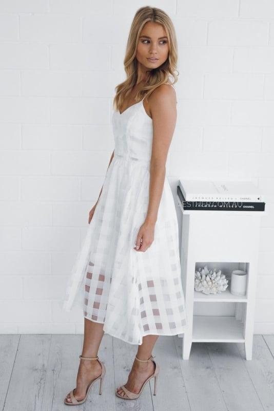 white dress midi 15